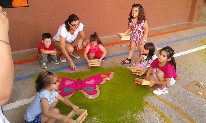 Taller de alfombras para niños