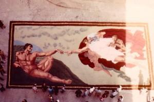 Alfombras de Serrín Elche de la Sierra 1982 3