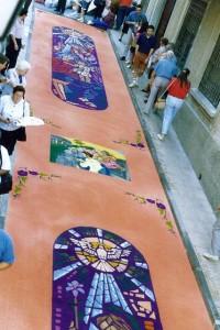 Alfombras de Serrín Elche de la Sierra 1994 3