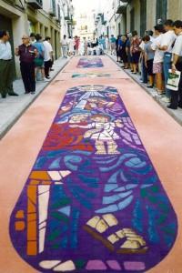 Alfombras de Serrín Elche de la Sierra 1994 5