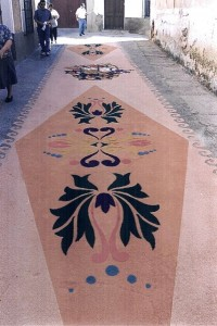 Alfombras de Serrín Elche de la Sierra 1998 1