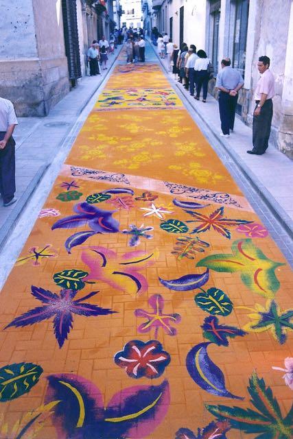 Alfombras de serr n elche de la sierra 1998 5 alfombras - Alfombras sierra ...