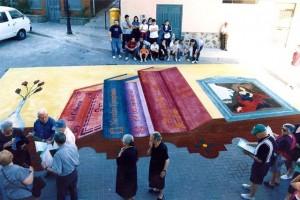 Alfombras de Serrín Elche de la Sierra 1999 1