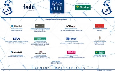 Premio a la Promoción Albacete por los premios empresariales San Juan 2015 de FEDA