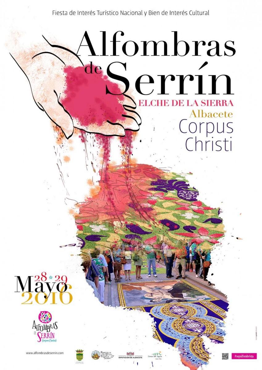 cartel alfombras de serrin corpus 2016