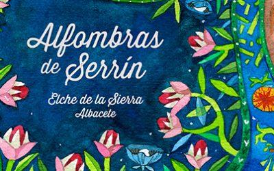 Cartel del Corpus Christi 2017. Alfombras de Serrín. Elche de la Sierra (Albacete)