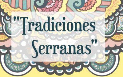 """""""TRADICIONES SERRANAS"""" ALFOMBRA DE ELCHE DE LA SIERRA PARA NUESTRO CONGRESO"""