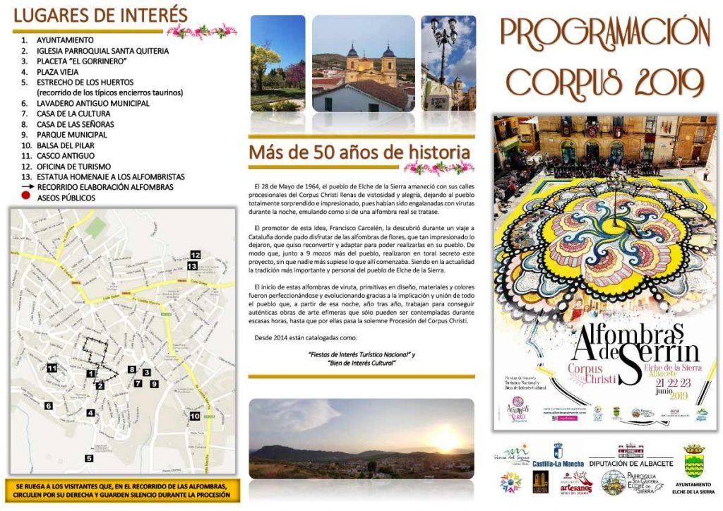 Programación Corpus Christi 2 2019e Elche de la Sierra (Albacete)