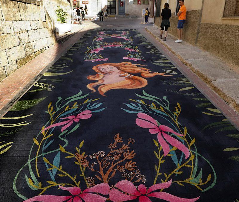 Colaboración Fundación Albacete Balompié con las alfombras
